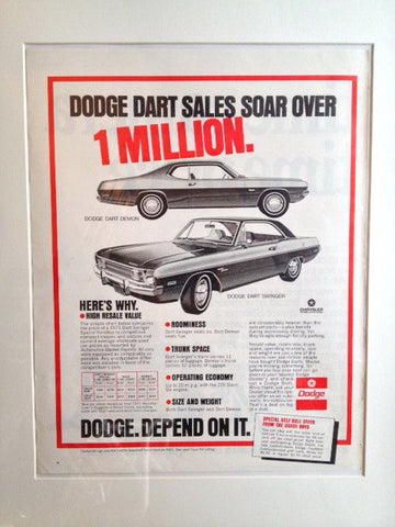 Dodge Dart 1972 LIFE April 12 1972