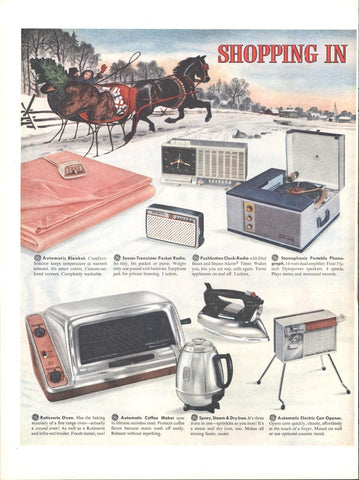 General Electric Products Christmas LIFE December 14 1959
