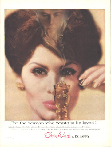 Du Barry Seven Winds Perfume Page LIFE December 14 1959