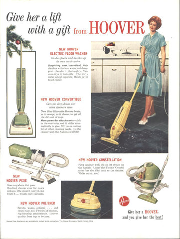 Hoover Vacuums Christmas Page LIFE December 14 1959