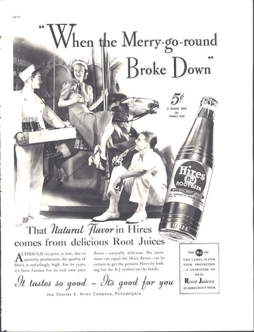Hires R-J Root Beer Page LIFE August 30 1937