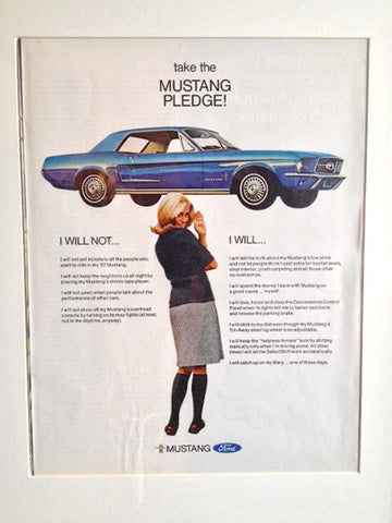 Ford Mustang 1966 LIFE December 23 1966