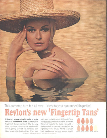 Revlon Nail Colors Page LIFE June 12 1964