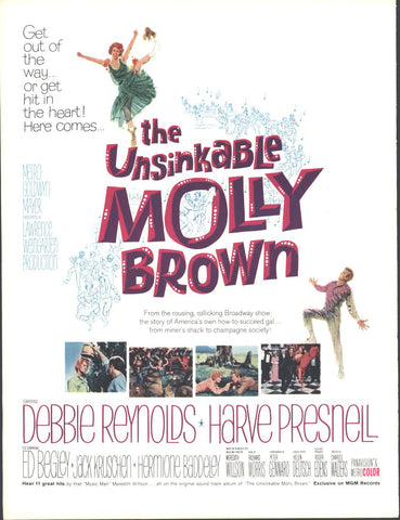 Unsinkable Molly Brown Movie Page LIFE June 12 1964