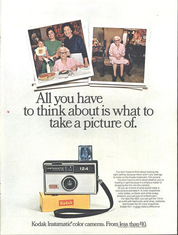 Kodak Instamatic Camera LIFE November 21 1969