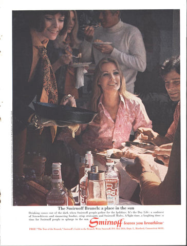 Smirnoff Vodka Holidays LIFE November 21 1969