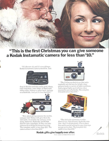Kodak Instamatic Camera Christmas LIFE November 21 1969