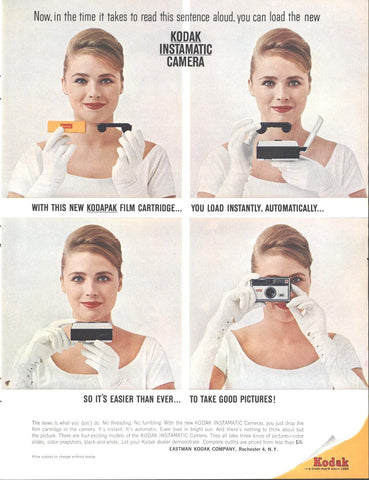 Kodak Instamatic Cameras LIFE May 24 1963