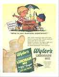 Wyler's Lemonade Mix Page LIFE May 24 1963