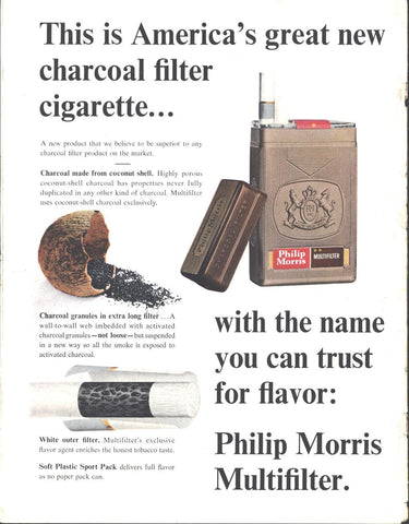Phillip Morris Cigarettes LIFE June 26 1964