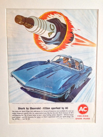 Chevrolet Corvette AC Delco LIFE January 18 1963
