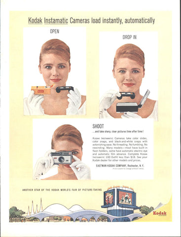 Kodak Instamatic World's Fair LIFE April 3 1964