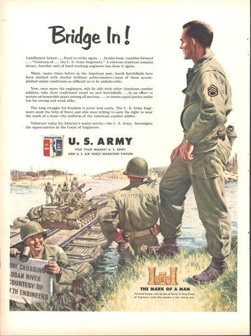US Army Recruiting LIFE August 13 1951