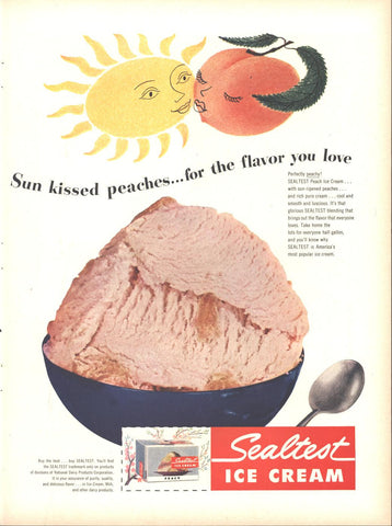 Sealtest Ice Cream Page LIFE August 13 1951