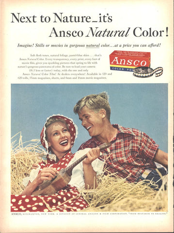 Ansco Color Movie Film LIFE August 13 1951