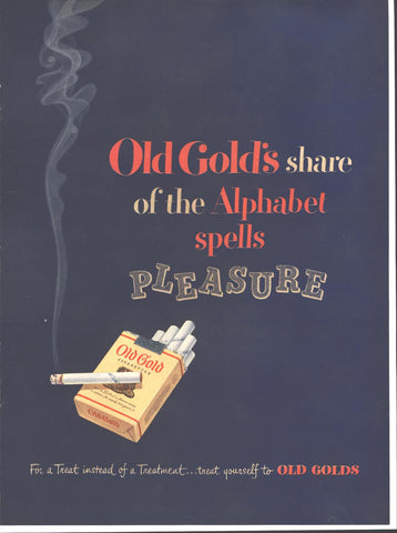 Old Gold Cigarettes LIFE February 23 1948