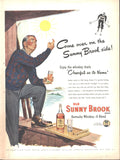 Old Sunny Brook Kentucky Whiskey Page LIFE February 23 1948