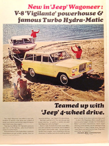 Jeep Wagoneer 1965 Page LIFE May 28 1965