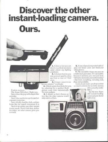 Argus Instamatic Camera Page LIFE May 21 1965