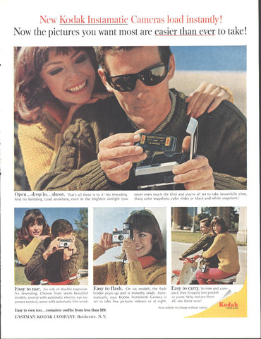Kodak Instamatic Camera Page LIFE May 21 1965