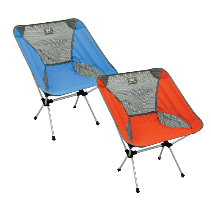 Camp Chair Set - (Orange/Blue)