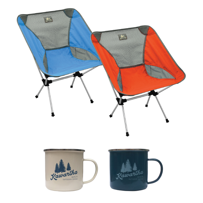 Camp Fire Set - (Orange/Blue)