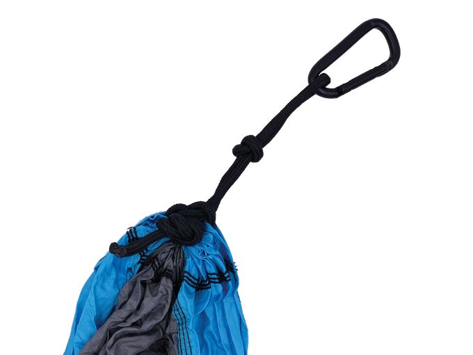 HiRise Packable Hammock (Blue/Grey)