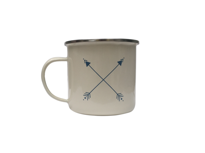 Enamel Mug (Cream)