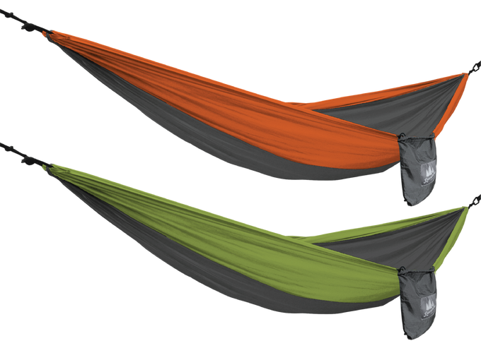 HiRise Packable Hammock 2-Pack (Orange/Lime)