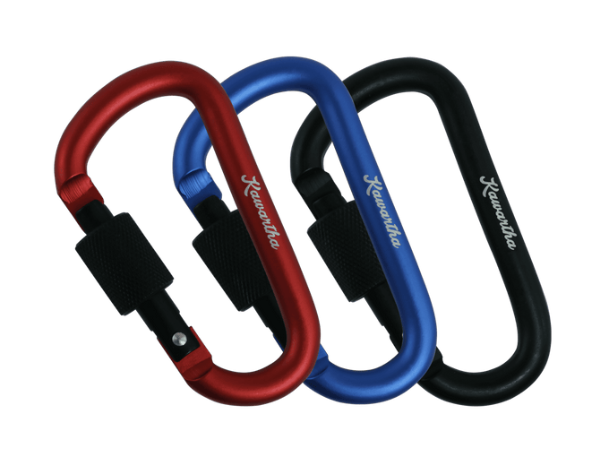 Screw-lock Carabiner 3-Pack