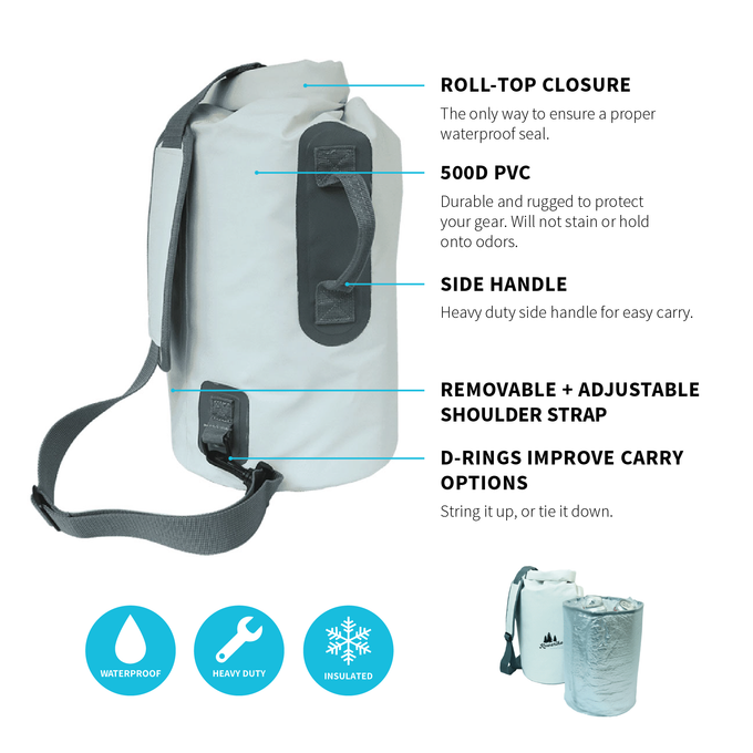 Dry Bag + Cooler Insert