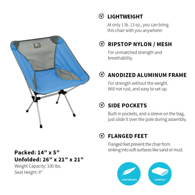 Camp Fire Set - (Blue/Grey)