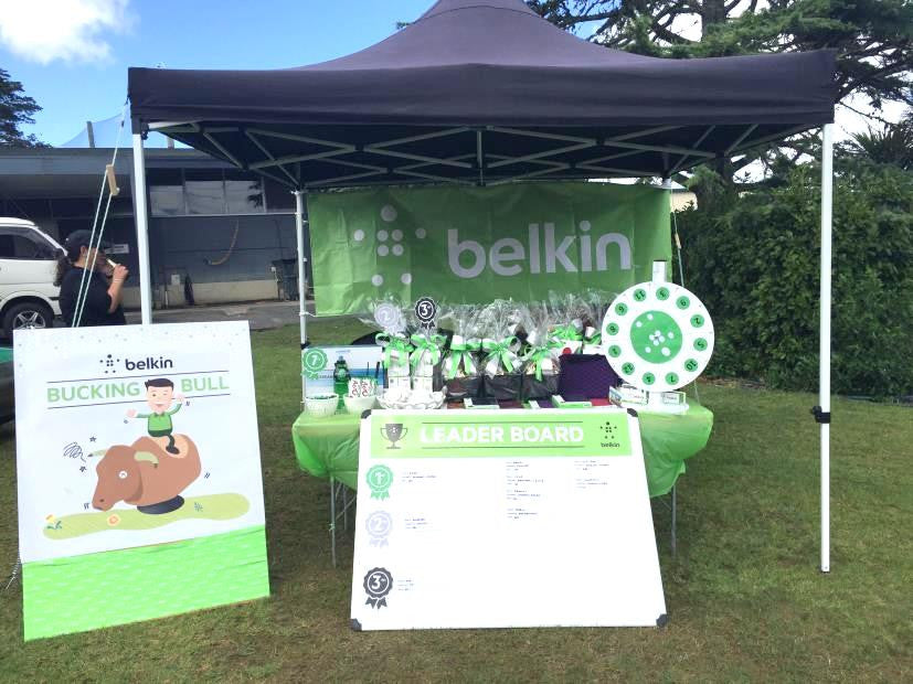 Belkin Raising money for Cure Kids with Batenburgs Hampers