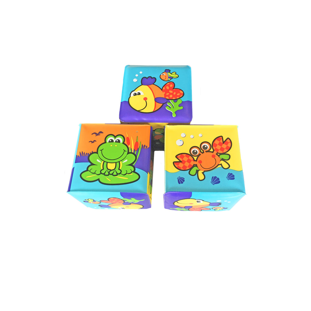 New baby soft building blocks made by playgro delivered NZ wide by Batenburgs Hampers NZ