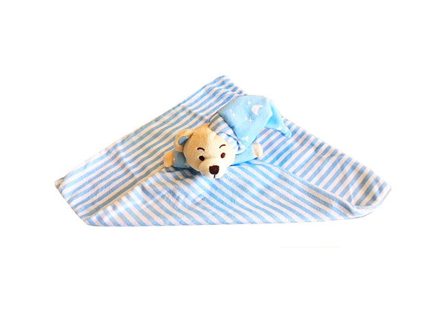 New baby soft sleep blanket delivered NZ wide Batenburgs Gift Hampers