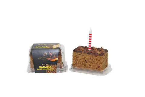 Cake gift with a birthday candle delivered within Auckland NZ. Batenburgs Gift Hampers.