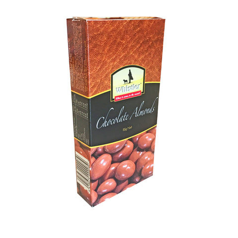 Chocolate coated almonds gift box from Batenburgs Gift  Hampers NZ