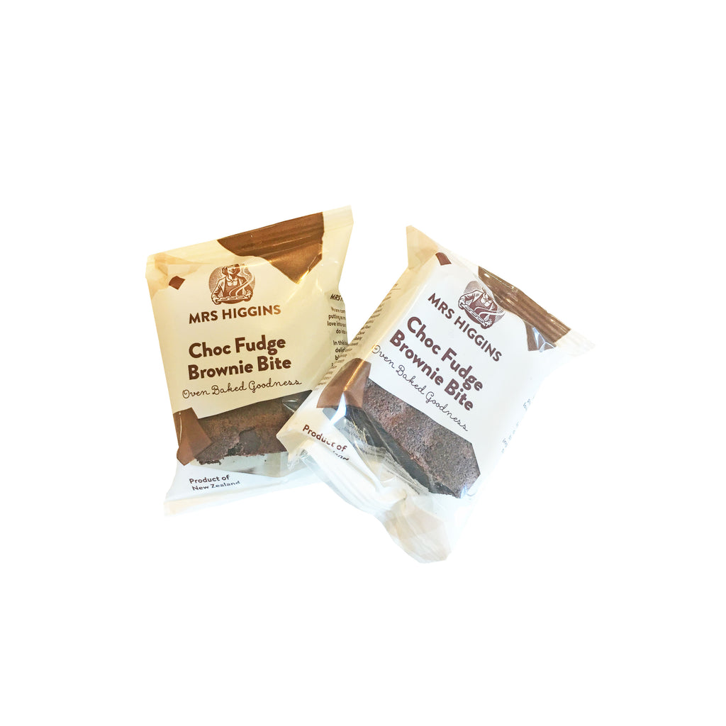 Chocolate Fudge Brownie bites x2 from Batenburgs Gift Hampers NZ