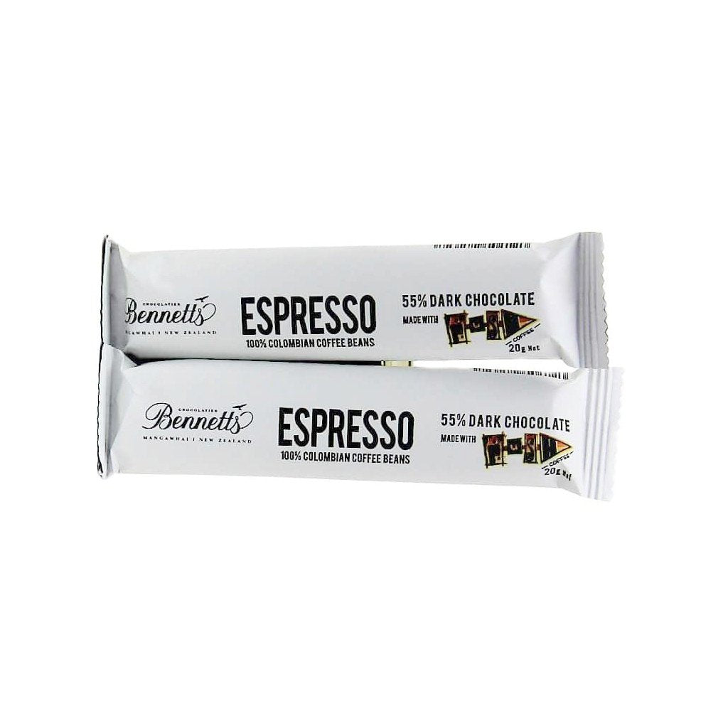 bennetts of Mangawhai chocolate espresso bars from Batenburgs gift hampers
