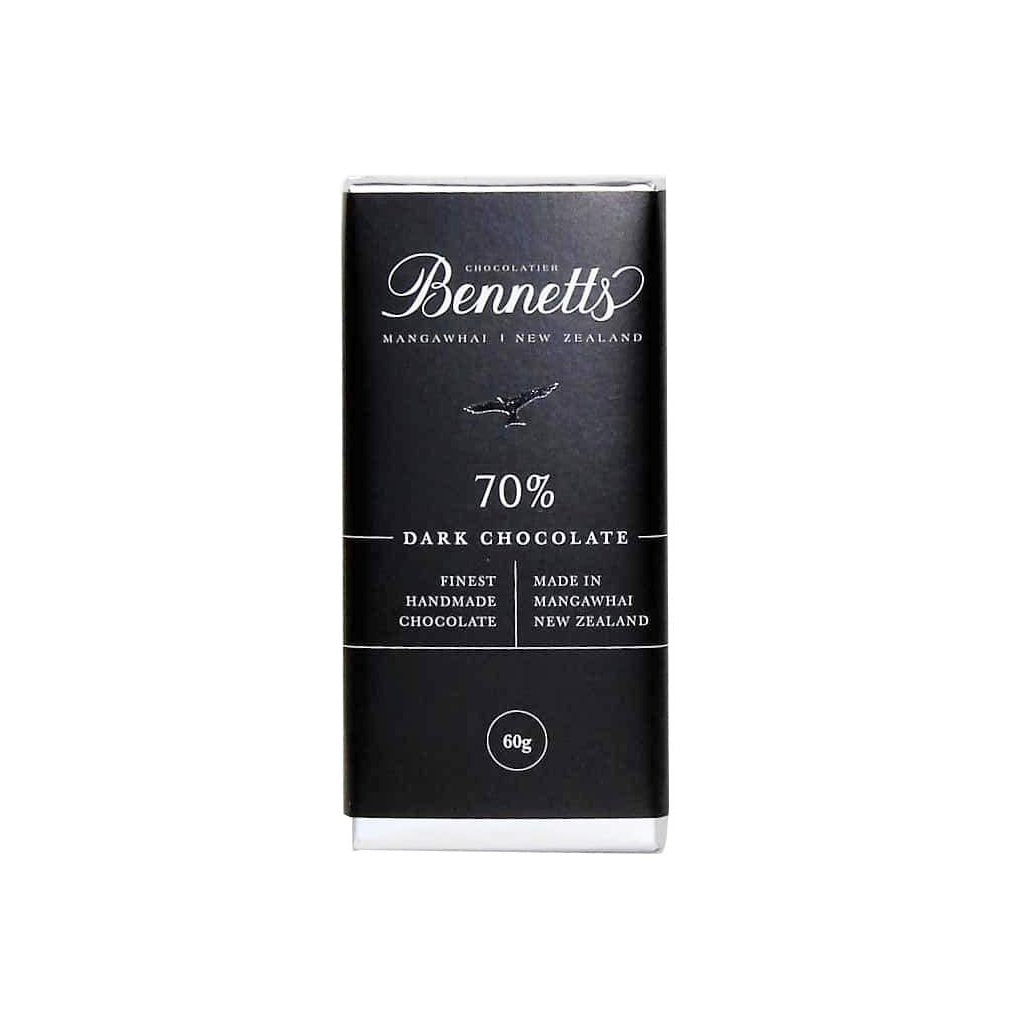 70% Dark chocolate bar from Batenburgs gift hampers NZ