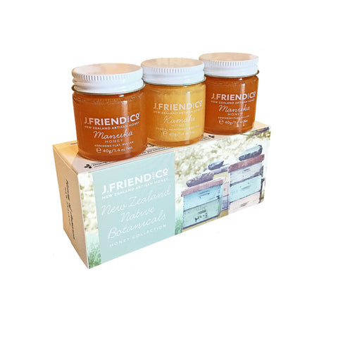 New Zealand Honey Collection gift box including Manuka honey from Batenburgs Gift hampers