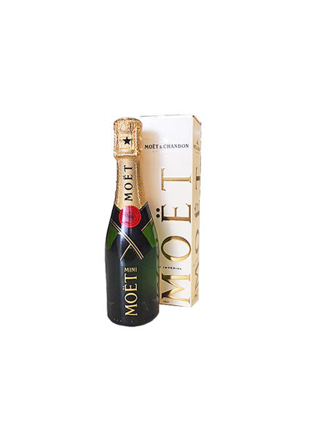 Mini Moet boxed 200ml delivered NZ wide Batenburgs Hampers