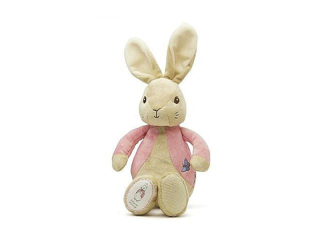 My first flopsy bunny for baby girl gift from Beatrix Potter's Peter Rabbit.