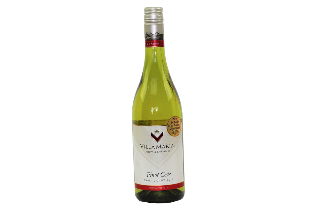 New Zealand Pinot Gris Villa Maria wine from Batenburgs gift hampers NZ