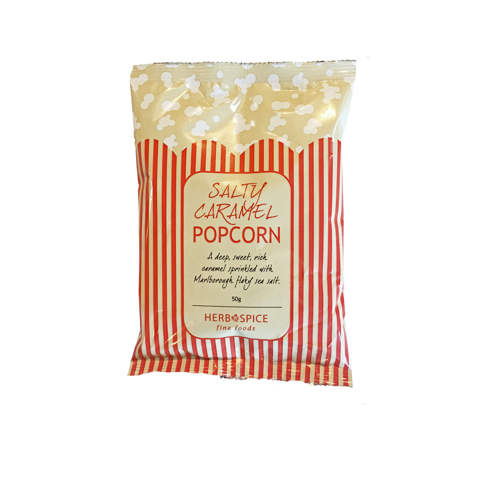 Salty caramel popcorn from Batenburgs Gift Hampers NZ