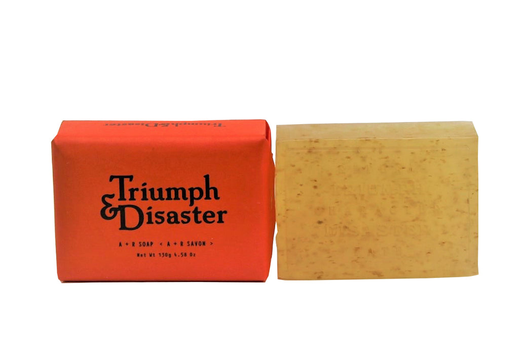 Triumph & Disaster Almond milk & Rosehip oil soap for men