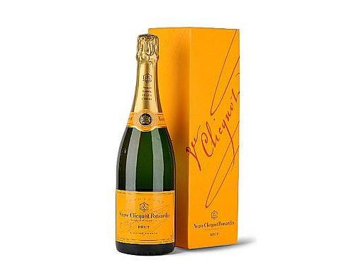 Veuve Clicquot Brut French Champagne Bottle delivered to all New Zealand