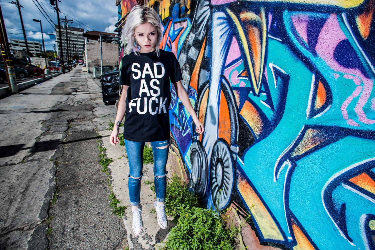 Sad As Fuck T-Shirt