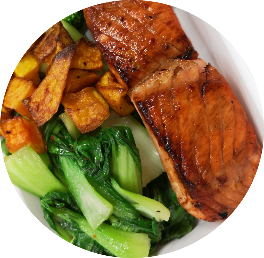 Miso Salmon - No Carbs - Fitdishfoods