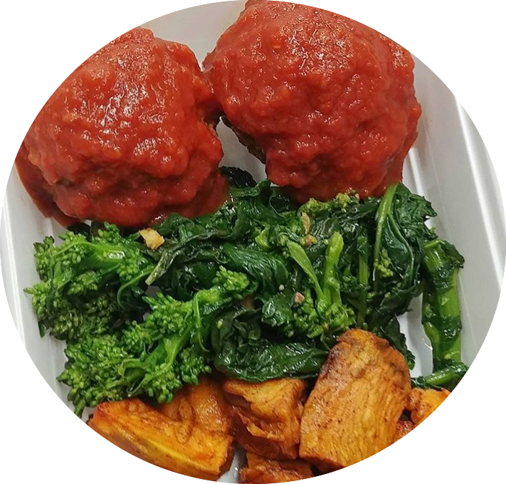 Nonna's Meatballs (CARB-FREE) - Fitdishfoods